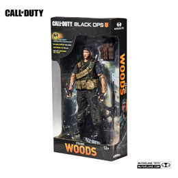 Photo du produit CALL OF DUTY BLACK OPS 4 FIGURINE FRANK WOODS 15 CM Photo 1