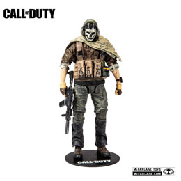 CALL OF DUTY MODERN WARFARE FIGURINE SPECIAL GHOST 15 CM