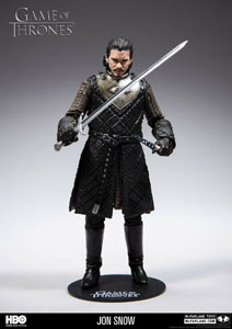 Photo du produit LE TRONE DE FER FIGURINE JON SNOW Photo 1