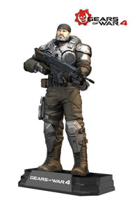 GEARS OF WAR 4 FIGURINE COLOR TOPS MARCUS FENIX 18 CM