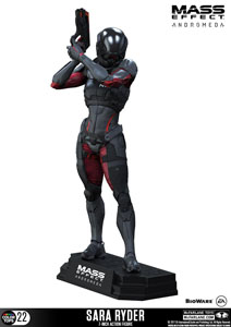 Photo du produit MASS EFFECT ANDROMEDA FIGURINE COLOR TOPS SARA RYDER 18 CM