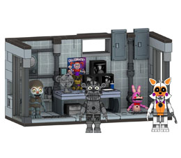 FIVE NIGHTS AT FREDDY´S JEU DE CONSTRUCTION MEDIUM PRIVATE ROOM