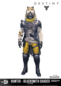 DESTINY FIGURINE COLOR TOPS HUNTER (BLACKSMITH SHADER) 18 CM