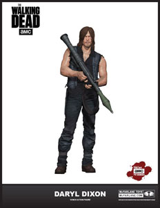 THE WALKING DEAD FIGURINE DELUXE DARYL DIXON (S6) 25 CM