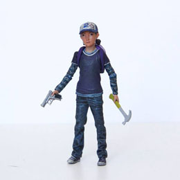 THE WALKING DEAD FIGURINE CLEMENTINE (COLOR)