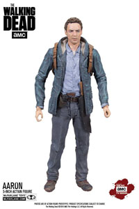 THE WALKING DEAD TV VERSION FIGURINE AARON EXCLUSIVE 13 CM