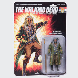 THE WALKING DEAD FIGURINE SHIVA FORCE SENSEI EZEKIEL (COLOR) 13 CM
