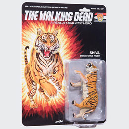 THE WALKING DEAD FIGURINE SHIVA FORCE TIGER SHIVA (COLOR) 13 CM