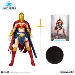 Photo du produit DC Multiverse figurine LKOE Wonder Woman with Helmet of Fate 18 cm Photo 1