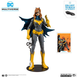 DC REBIRTH FIGURINE BUILD A BATGIRL (ART OF THE CRIME) 18 CM