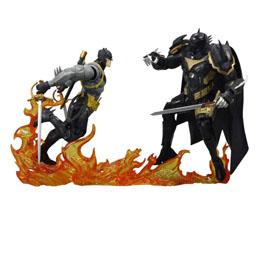 DC Multiverse pack 2 figurines Collector Multipack Batman vs Azrael Batman Armor 18 cm