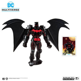 BATMAN & ROBIN FIGURINE BATMAN (HELLBAT SUIT) 18 CM