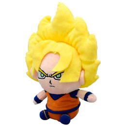 PELUCHE SUPER SAIYAN GOKU DRAGON BALL Z 15CM