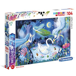 PUZZLE BRILLANT FAIRY NIGHT 104 PIÈCES