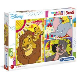 Puzzle Disney Classic 3x48 pièces