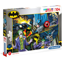 DC COMICS SUPERCOLOR PUZZLE BATMAN (104 PIÈCES)