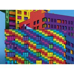 Photo du produit PUZZLE CUBES 500 PIECES Photo 1