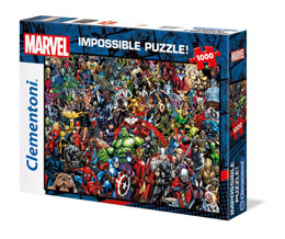 MARVEL 80TH ANNIVERSARY PUZZLE IMPOSSIBLE CHARACTERS (1000 PIECES)