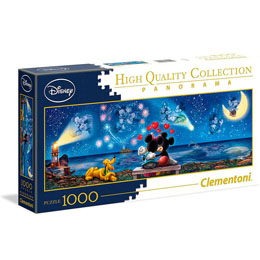 PUZZLE PANORAMA MICKEY AND MINNIE DISNEY 1000 PIECES