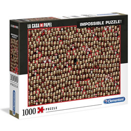 LA CASA DE PAPEL PUZZLE IMPOSSIBLE MASK 1000 PIECES