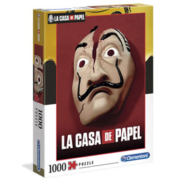 LA CASA DE PAPEL PUZZLE MASK 1000 PIECES