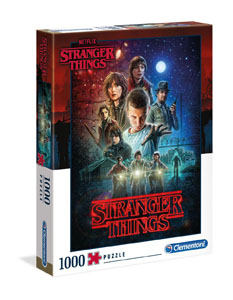 STRANGER THINGS PUZZLE SEASON 1 - 1000 PIECES