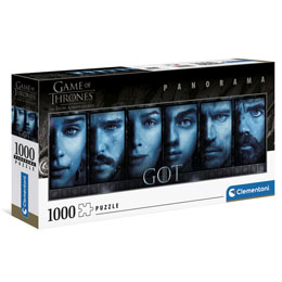 GAME OF THRONES PANORAMA PUZZLE FACES (1000 PIÈCES)