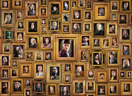 Photo du produit HARRY POTTER PUZZLE IMPOSSIBLE PORTRAITS Photo 1