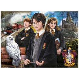 Photo du produit MALETTE PUZZLE HARRY POTTER 1000 PIÈCES Photo 1