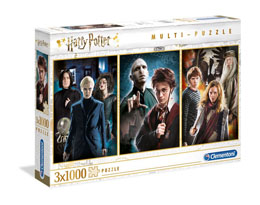HARRY POTTER PACK 3 PUZZLES CHARACTERS