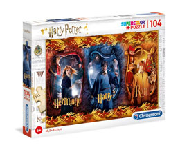 HARRY POTTER PUZZLE SUPER COLOR HARRY, RON & HERMIONE