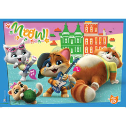 Photo du produit PUZZLE 44 CATS 180 PIECES Photo 1
