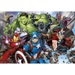 Photo du produit PUZZLE MARVEL AVENGERS 180 PIECES Photo 1