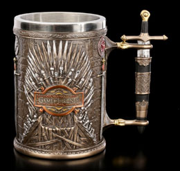 CHOPE GAME OF THRONES - TRONE DE FER
