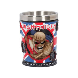IRON MAIDEN VERRE À SHOT TROOPER