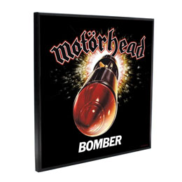MOTÖRHEAD DÉCORATION MURALE CRYSTAL CLEAR PICTURE BOMBER 32 X 32 CM