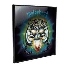 MOTÖRHEAD DÉCORATION MURALE CRYSTAL CLEAR PICTURE OVERKILL 32 X 32 CM