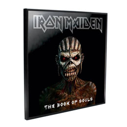 IRON MAIDEN DÉCORATION MURALE CRYSTAL CLEAR PICTURE BOOK OF SOULS 32 X 32 CM