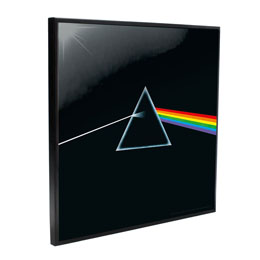PINK FLOYD DÉCORATION MURALE CRYSTAL CLEAR PICTURE DARK SIDE OF THE MOON 32 X 32 CM