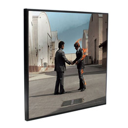 PINK FLOYD DÉCORATION MURALE CRYSTAL CLEAR PICTURE WISH YOU WERE HERE 32 X 32 CM