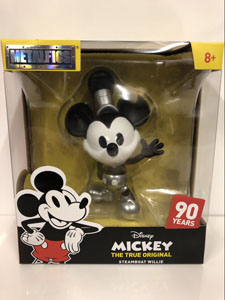 DISNEY METALFIGS FIGURINE DIECAST MICKEY STEAMBOAT WILLIE 10 CM