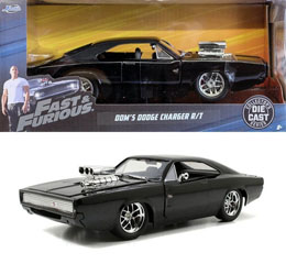 FAST & FURIOUS 1/24 1970 DODGE CHARGER METAL