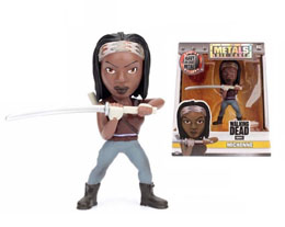WALKING DEAD METALS FIGURINE DIECAST MICHONNE
