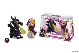 Photo du produit DISNEY PACK 2 METALFIGS FIGURINES DIECAST MALEFICENT & BRIAR ROSE 10 CM Photo 1