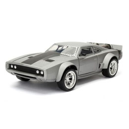 FAST & FURIOUS 8 1/24 DOM'S ICE CHARGER METAL