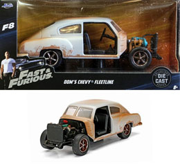 FAST & FURIOUS 8 1/32 DOM'S CHEVROLET FLEETLINE METAL