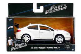 FAST & FURIOUS 8 1/32 MR LITTLE NOBODY'S SUBARU WRX STI METAL