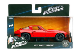 FAST & FURIOUS 8 1/32 LETTY'S CHEVROLET CORVETTE METAL