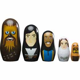 Photo du produit POUPEES RUSSES STAR WARS PERSONNAGES REBELLION