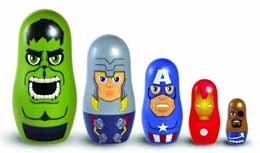 MARVEL THE AVENGERS NESTING DOLLS